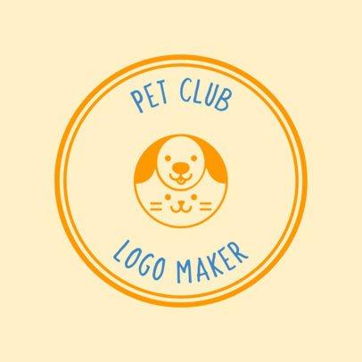 Pet Camp Logo Maker 56d