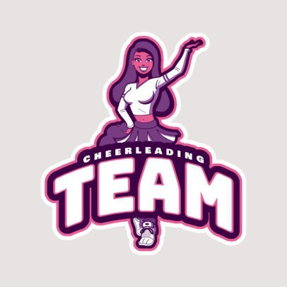 Cheerleader Logo Maker a29c