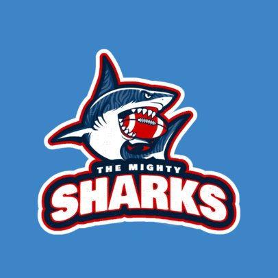 Football League Sports Logo Maker 245f