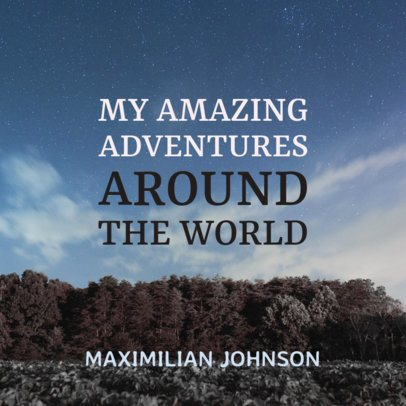 Adventure Book Cover Maker 2131c