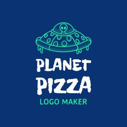 989c - Pizza logo maker