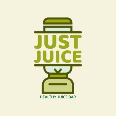 Logo Maker for a Juice Bar a1235