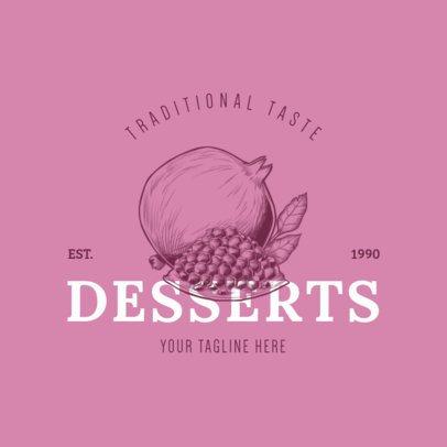 Dessert Logo Maker 1020d