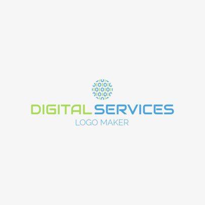 Tech Company Logo Maker 1141c