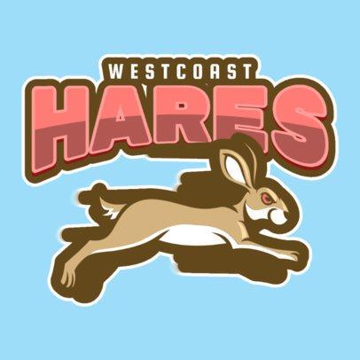 Aggressive Animal Logo Maker for High School Football Teams 120b