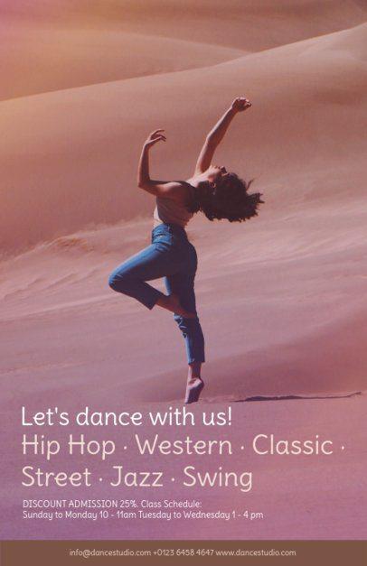 Online Flyer Maker for Hip Hop Dance Classes 137d