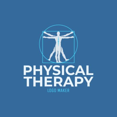 Custom Logo Maker for Physical Therapists 1188c
