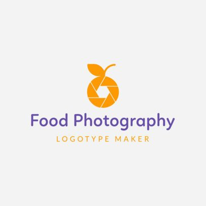 Food Photography Logo Maker 1196c