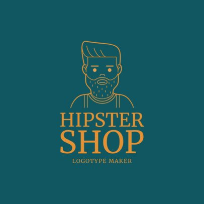 Shop Logo Maker with Customizable Avatar 1170c