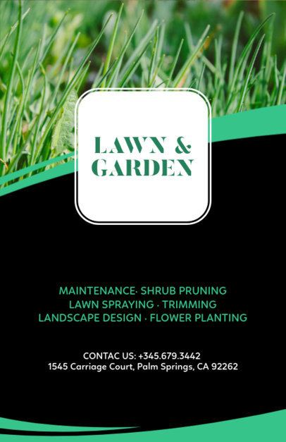 Landscape Design Online Flyer Maker 159d