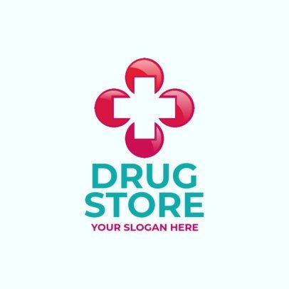 Medical Store Logo Maker 1157e