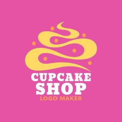 Logo Maker to Design a Cupcake Logo 1131e