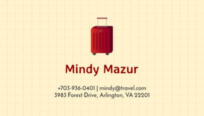 Business Card Maker for Travel Bloggers 300d