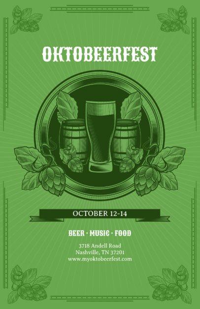 Online Flyer Maker for Oktoberfest 135b