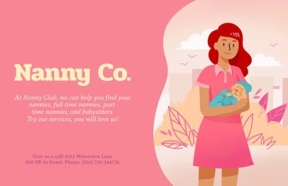 Online Flyer Maker for Nannies 315c