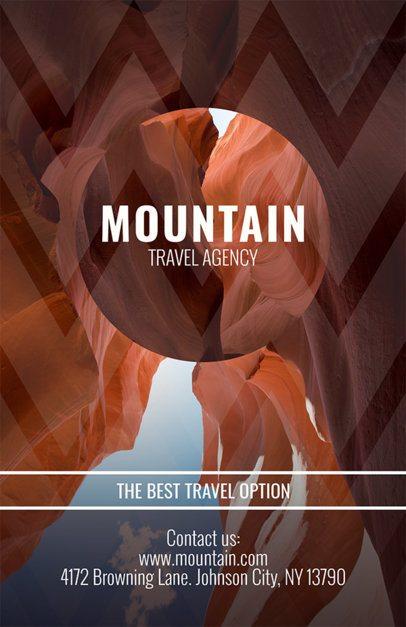 Online Flyer Maker for Travel Agencies 309