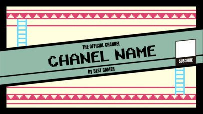 YouTube Banner Maker for Gaming Channels 393