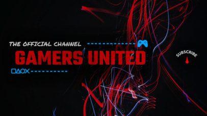 Online Banner Maker for Gaming Channels 386d