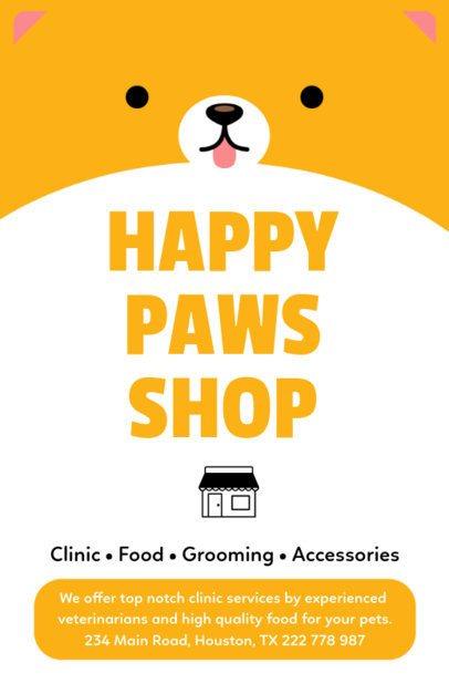 Flyer Maker for Pet Shops 398