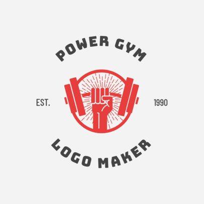 Online Logo Maker for Fitness Centers 1273c