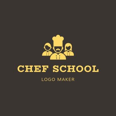 Online Logo Maker for Chef Schools 1299b