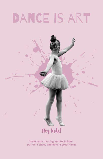 Flyer Maker for Ballet Studios 432e