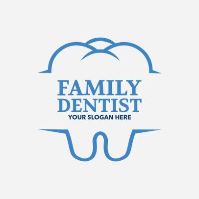 Custom Logo Maker for Family Dentists 1284e