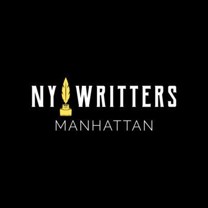 Writer Logo Maker 1306d