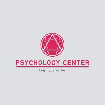 Logo Maker for Psychology Center 1352