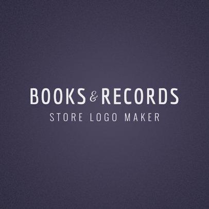 Bookstore Logo Template 1354