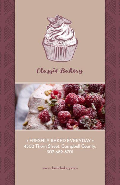 Classic Bakery Online Flyer Maker 494b