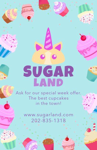 Sweet Bakery Flyer Template 496