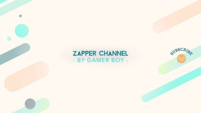 Colorful Gaming Channel Banner Template 457d