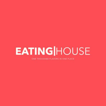 Simple Restaurant Logo Creator 1357