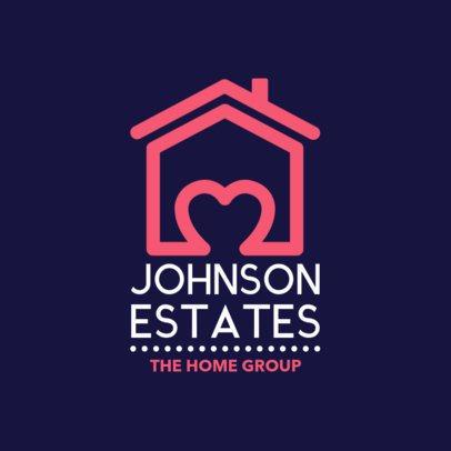 Logo Maker for a Real Estate Agency 1337c