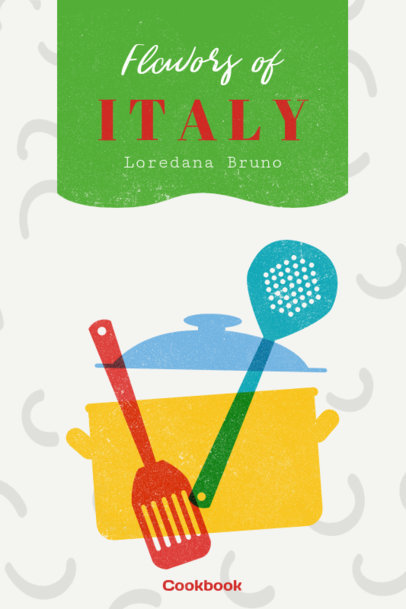 Italian Cookbook Cover Maker 547e