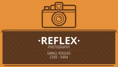 Business Card Maker for Vintage Photographers 507e