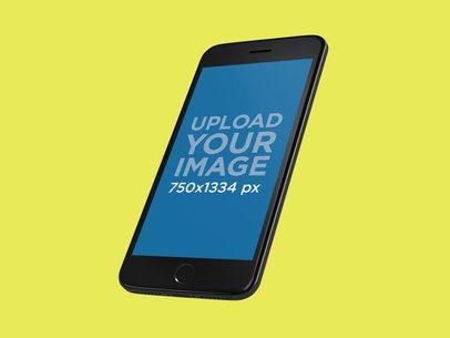 Space Gray iPhone 8 Mockup Render 22312