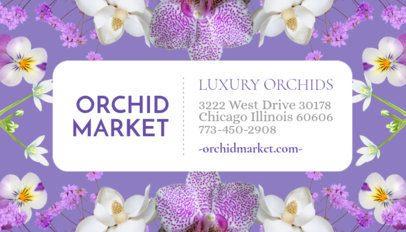 Flower Shop Business Card Maker 565a