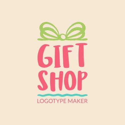 Creative Logo Maker for Gift Shops 1395