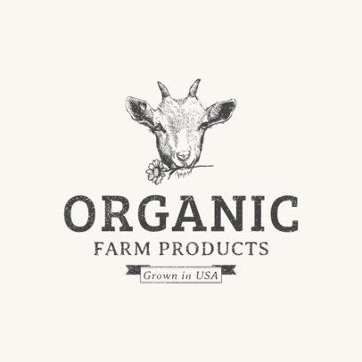 Farm Products Logo Template 1378e