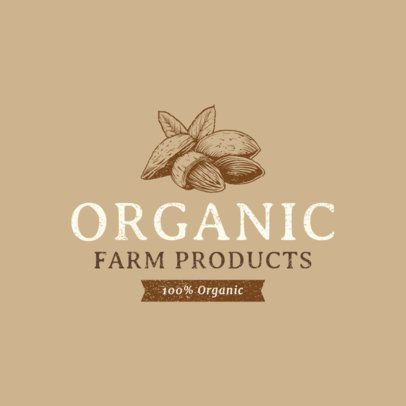 Organic Food Logo Maker 1378d