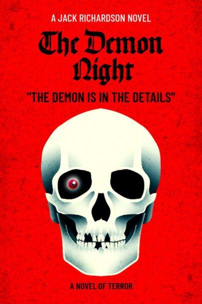 Horror Book Cover Maker with Illustration 537e