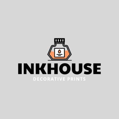 Online Logo Maker for Decorative Prints 1401c