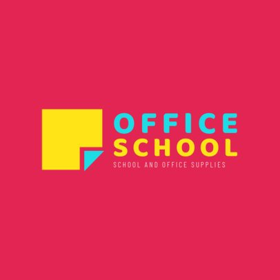 Logo Creator for Office and School Supplies 1380a
