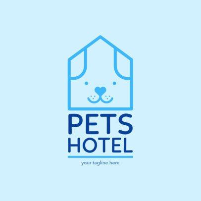 Online Logo Maker for Pet Hotel 1433