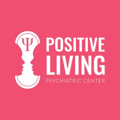Online Logo Maker for Psychology Centers 1304c