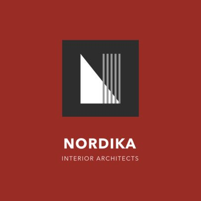 Abstract Logo Template for Architects 1420e