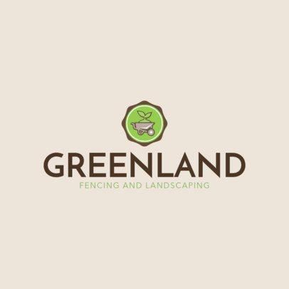 Logo Creator to Make Landscaping Logos 1422e