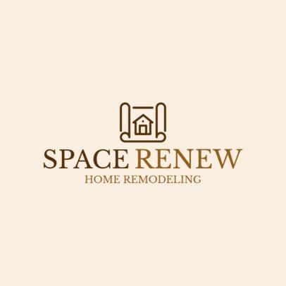 Home Remodeling Logo Maker 1431